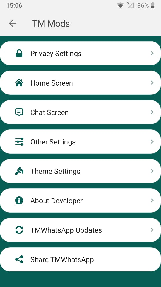 TM Whatsapp Privacy Features